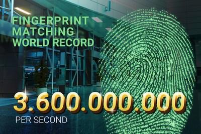 DERMALOG创造新纪录,每秒可匹配36亿个指纹