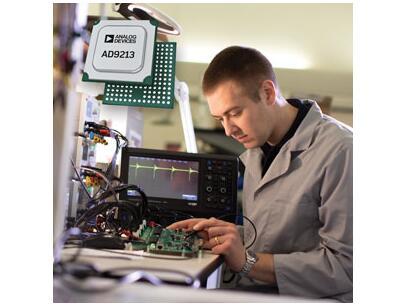 ADI 12位10.25-GSPS射频ADC树立新性能标准