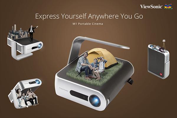 ViewSonic优派推出新款M1便携投影机
