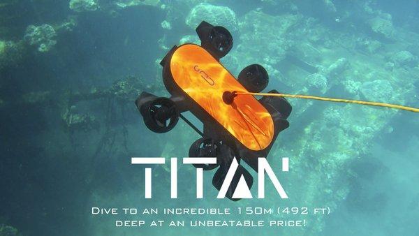 吉影水下机器人泰坦开启众筹