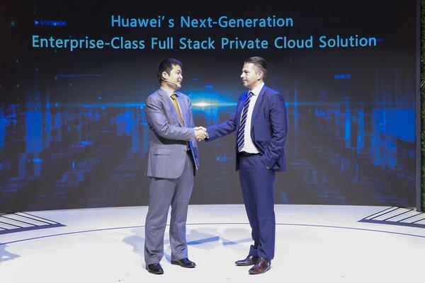 华为发布全新一代企业级全栈私有云解决方案