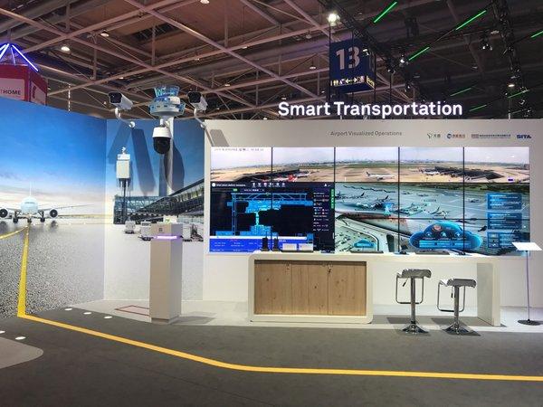 华为在CEBIT2018发布智慧机场2.0解决方案
