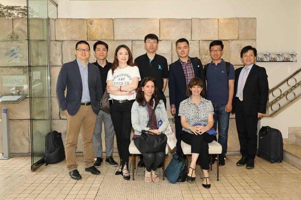 西中理事基金会选择6家中国人工智能企业访西