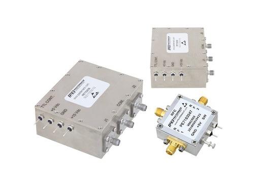 Pasternack推出高功率PIN二极管射频开关产品线