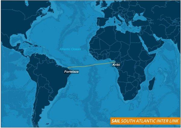 南大西洋洲际直连海底光缆系统SAIL全线贯通