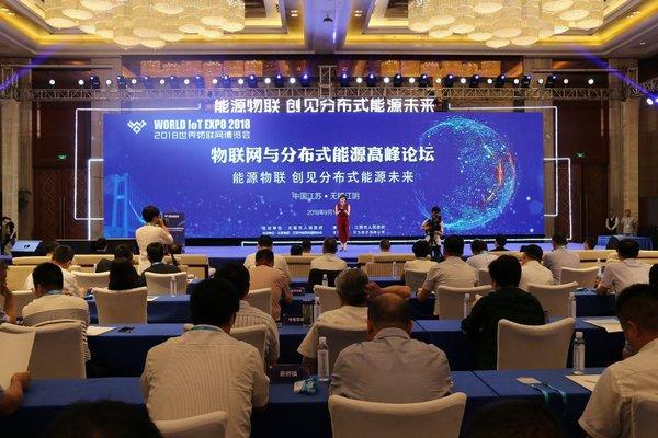 物联网与分布式能源高峰论坛成功举办
