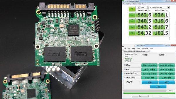 联芸科技发布支持64层3D QLC主控解决方案