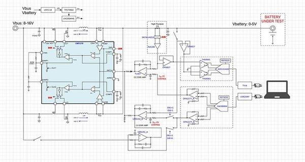 TI推出适用于高电流应用的电池测试仪参考设计