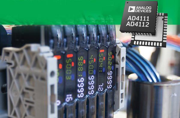 ADI推出多通道+/-10V和0-20mA精密模数转换器