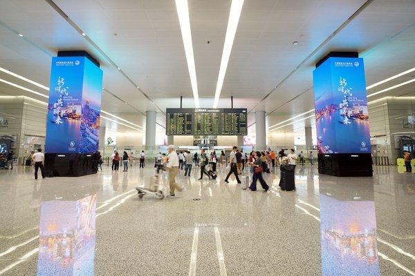 上海机场JCDECAUX呈现亚洲机场数码新标志