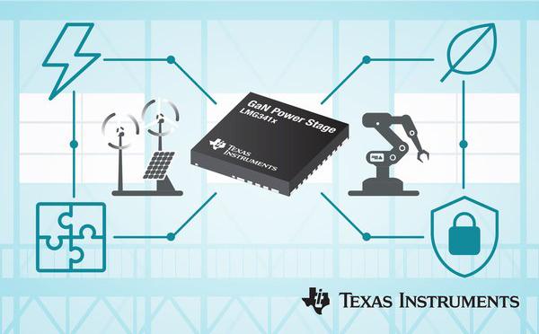 TI推出600V氮化镓场效应晶体管功率级产品组合