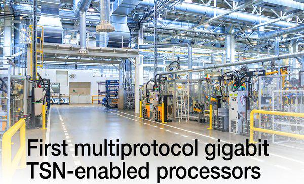 TI推出首款支持多协议千兆位TSN的处理器