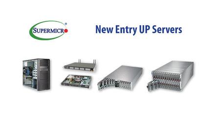 美超微提升入门级UP服务器系列