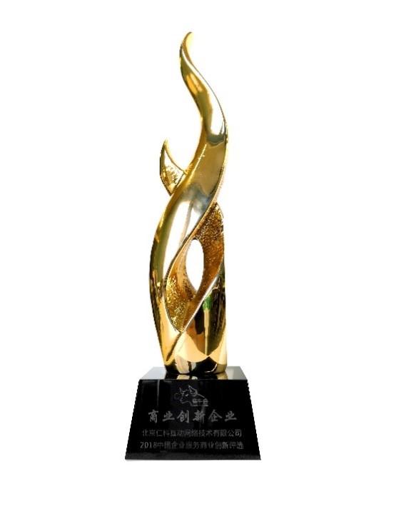 """销售易获""""2018中国企业服务商业创新企业""""奖"""