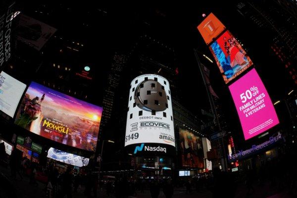 科沃斯机器人席卷全球购物狂欢节