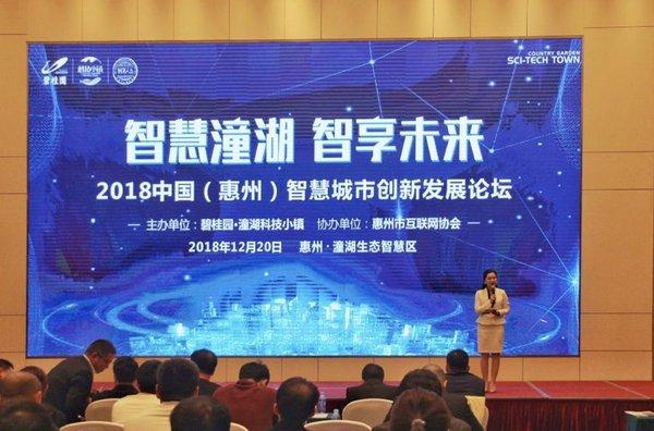 2018中国智慧城市创新发展论坛顺利召开