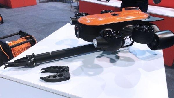 吉影科技:2019全球首款多功能扩展型水下无人机