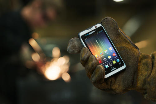 Handheld推出全新耐用安卓平板手机Nautiz X6