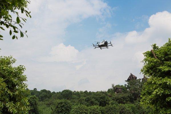 亿航智能成为中国首家且唯一载人无人机试点单位