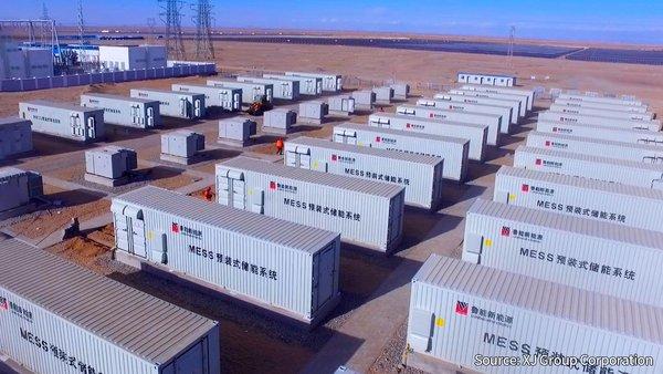 宁德时代助力国内最大发电侧电化学储能电站投运