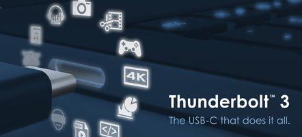 英特尔开放Thunderbolt3协议推进接口标准普及