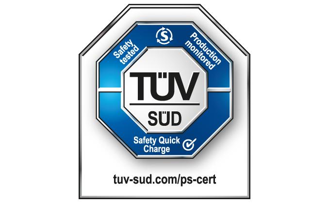 TUV南德推出安全快充认证