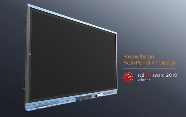 网龙新一代互动白板AP-V7斩获德国红点设计大奖