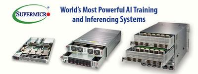 美超微提供NVIDIA GPU系统的端到端组合