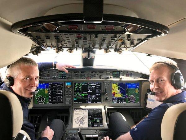 庞巴迪刚刚刷新了公务机飞行速度纪录