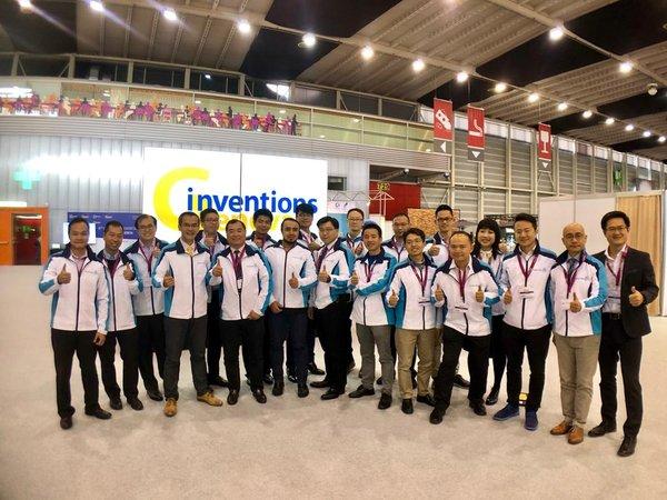 """应科院创新研发于""""日内瓦国际发明展""""囊括21个奖"""