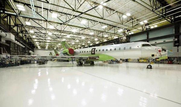庞巴迪环球6500首架生产型飞机即将完工