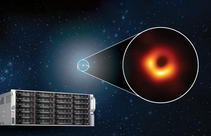 美超微支持重大科学发现与遥远星系的探测