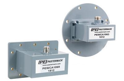 Pasternack推出铝制波导同轴转接头新产品