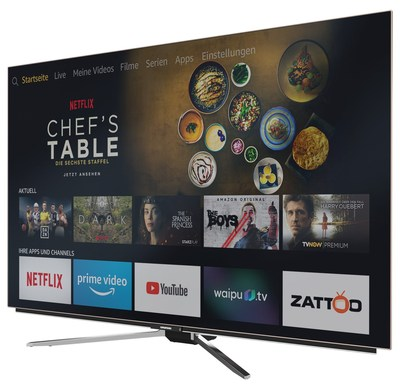 Grundig推全球免提语音控制的FireTV版智能电视
