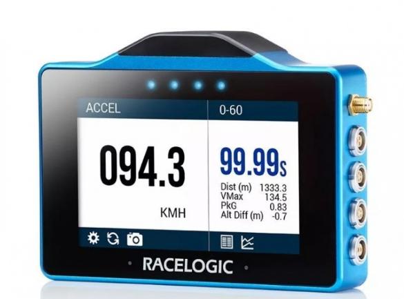 Racelogic 推出首款数据记录器VBOX Touch