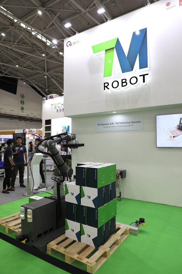 达明机器人携智能新产品系列亮相工博会