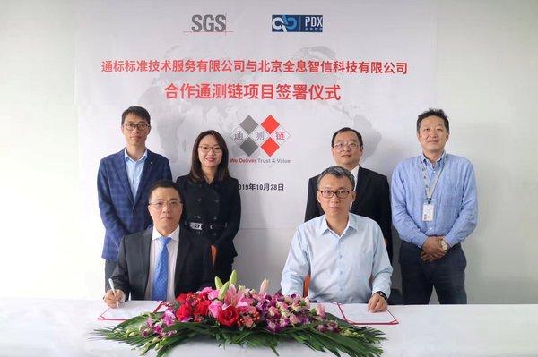 SGS携手全息智信打造检验检测区块链应用生态