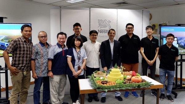 Ritase为雀巢印尼公司迈向配送管理数字化提供集成服务
