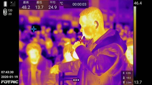 FOTRIC热像科技:热像仪做体温筛查,对人体有害吗?