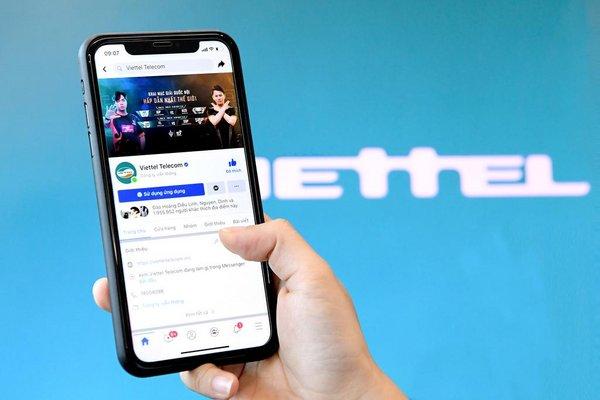 Viettel宣布推出官方粉丝专页