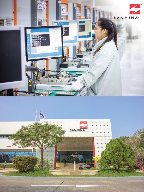 Sanmina扩大泰国设施 增加定制微电子和光学组件功能