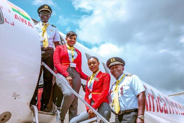 海航旗下非洲世界航空助力加纳政府抗击疫情