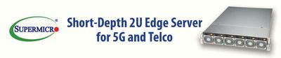 将工业标准服务器引入全球5G及电信市场