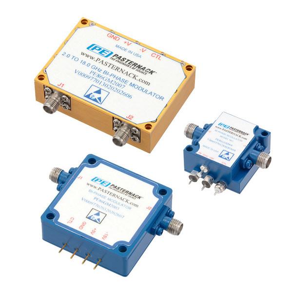 Pasternack推出了在0.5至40 GHz的频带内运行的即用双相调制器新系列