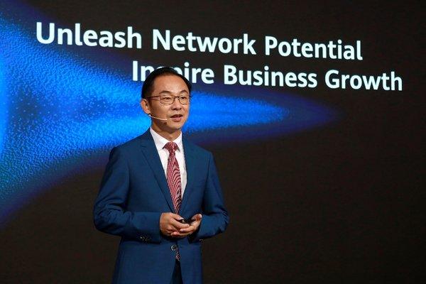 华为丁耘:释放网络潜能,激发商业增长