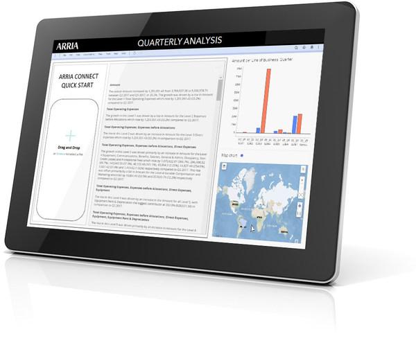 Arria推出新的自然语言技术 支持增强分析和报告自动化