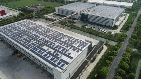普洛斯2020迄今光伏发电能力增长56%