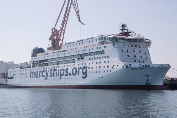Mercy Ships宣布最大NGO医院船