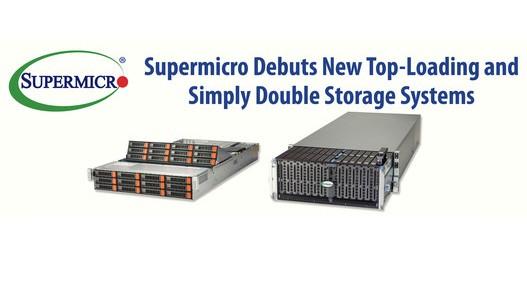 Supermicro首次亮相全新顶部装载的Simply Double存储系统