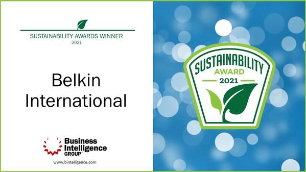 Belkin荣获2021年可持续发展领导力奖